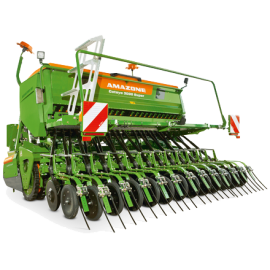 Conventional seed drill combinations